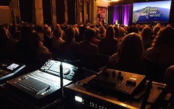 Camden International Film Festival AV Technik Event Production
