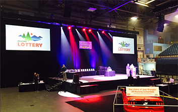 Maine State Lottery AV Technik Event Production